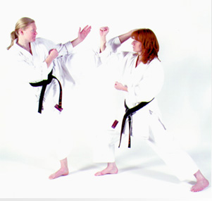 Traditional Shotokan Karate Training