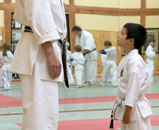 Karate Training for Tiny Tigers Age 5-7